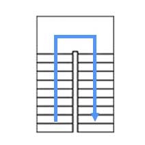 П-образный каркас  с площадкой, разворот на 180°