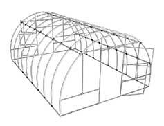 Каркас: длинна 4 метра, ширина 3 метра